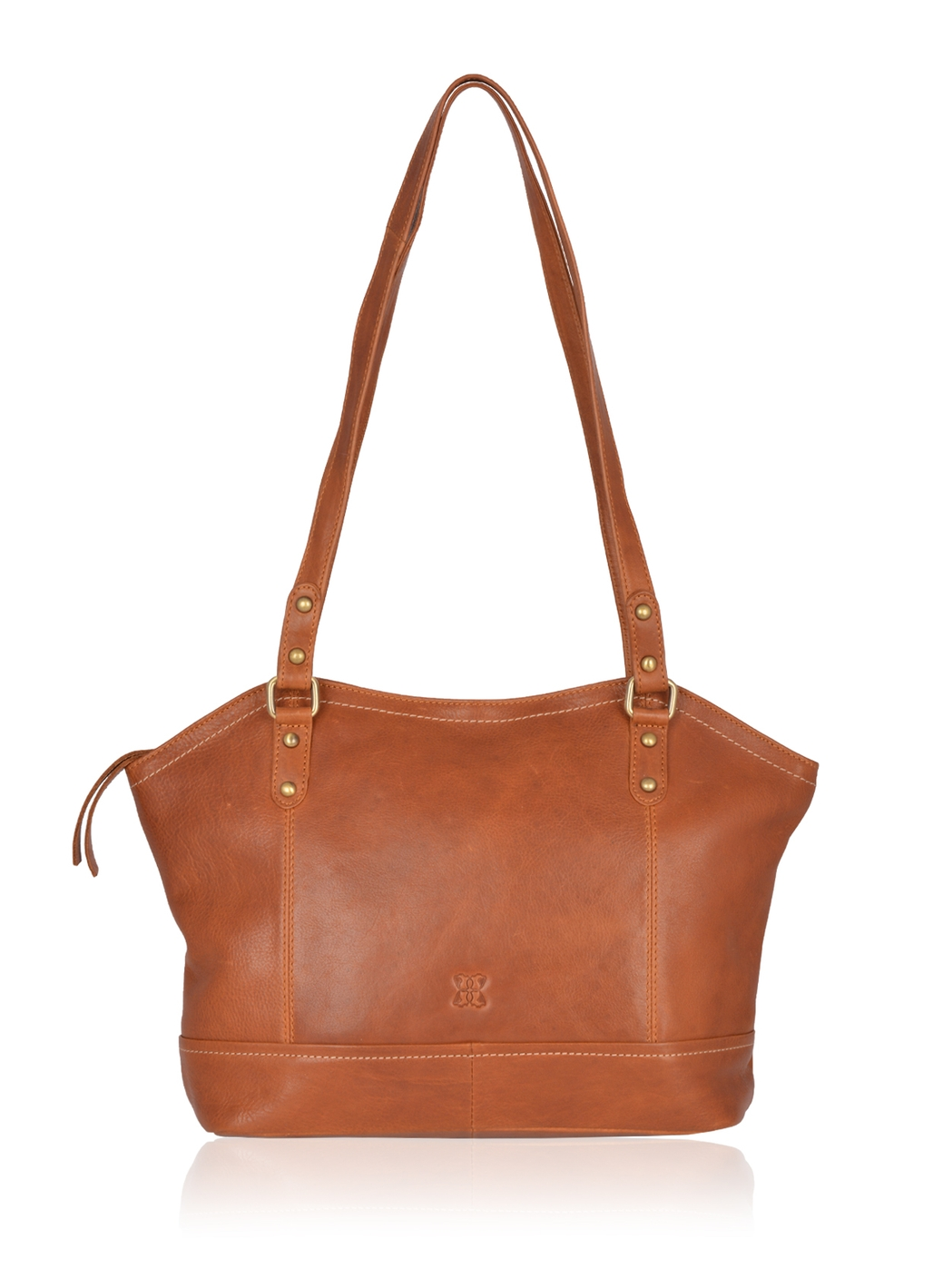 Allonby Leather Shopper Bag in Tan