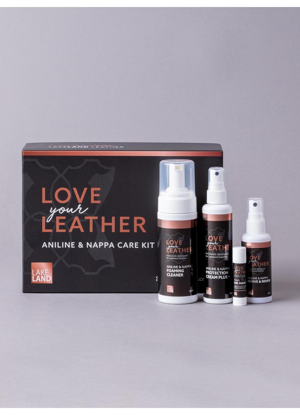 Aniline &  Nappa Leather Care Kit