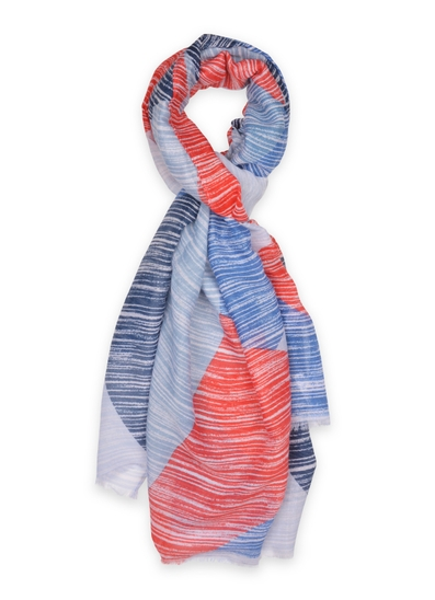 Carol Lightweight Abstract Scarf