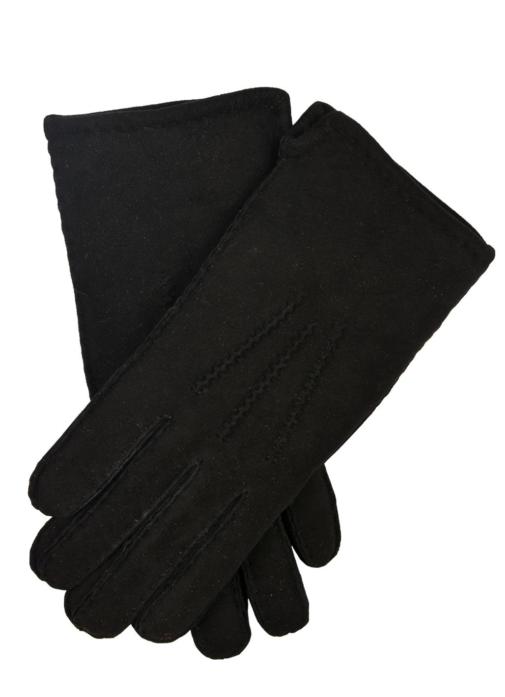 Elsa Sheepskin Gloves in Black