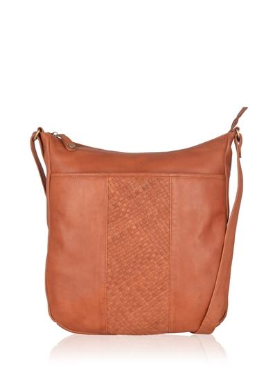 Gosforth Leather Shoulder Bag in Tan