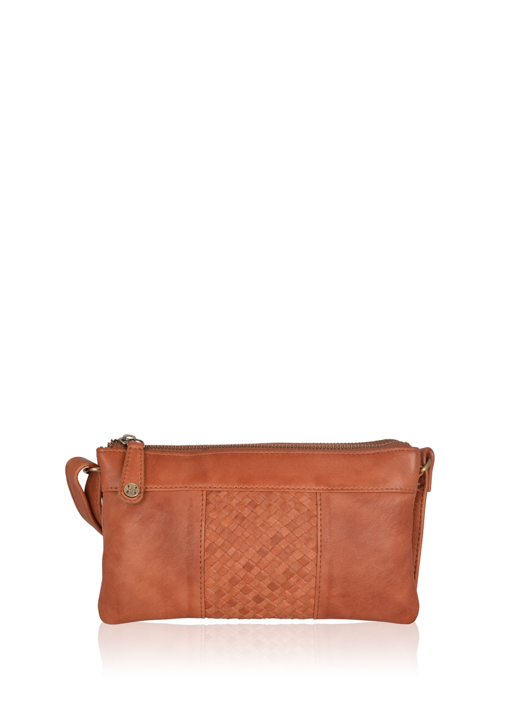 Gosforth Leather Cross Body Bag in Tan