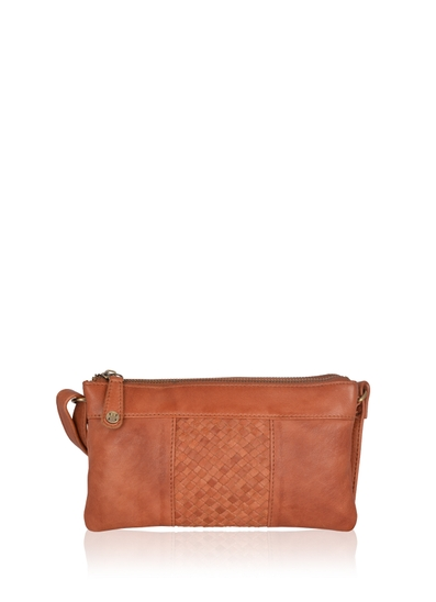 Gosforth Leather Cross Body Bag in Tan