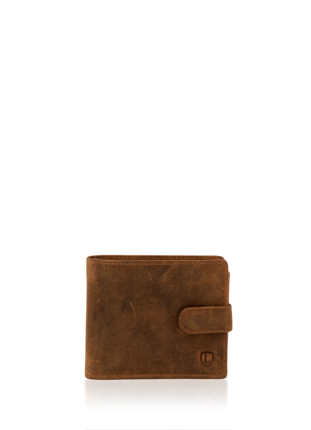 Hunter Leather Wallet in Tan