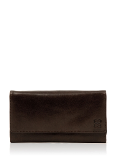 Kentmere 19cm Purse in Chocolate Brown