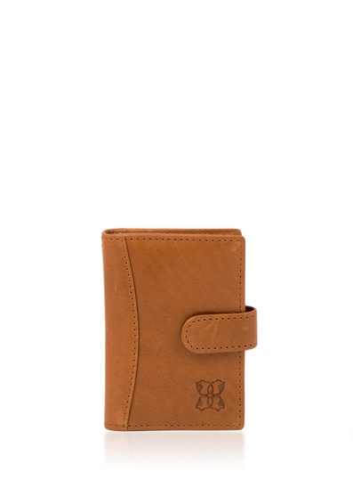 Kentmere Card Holder in Golden Tan