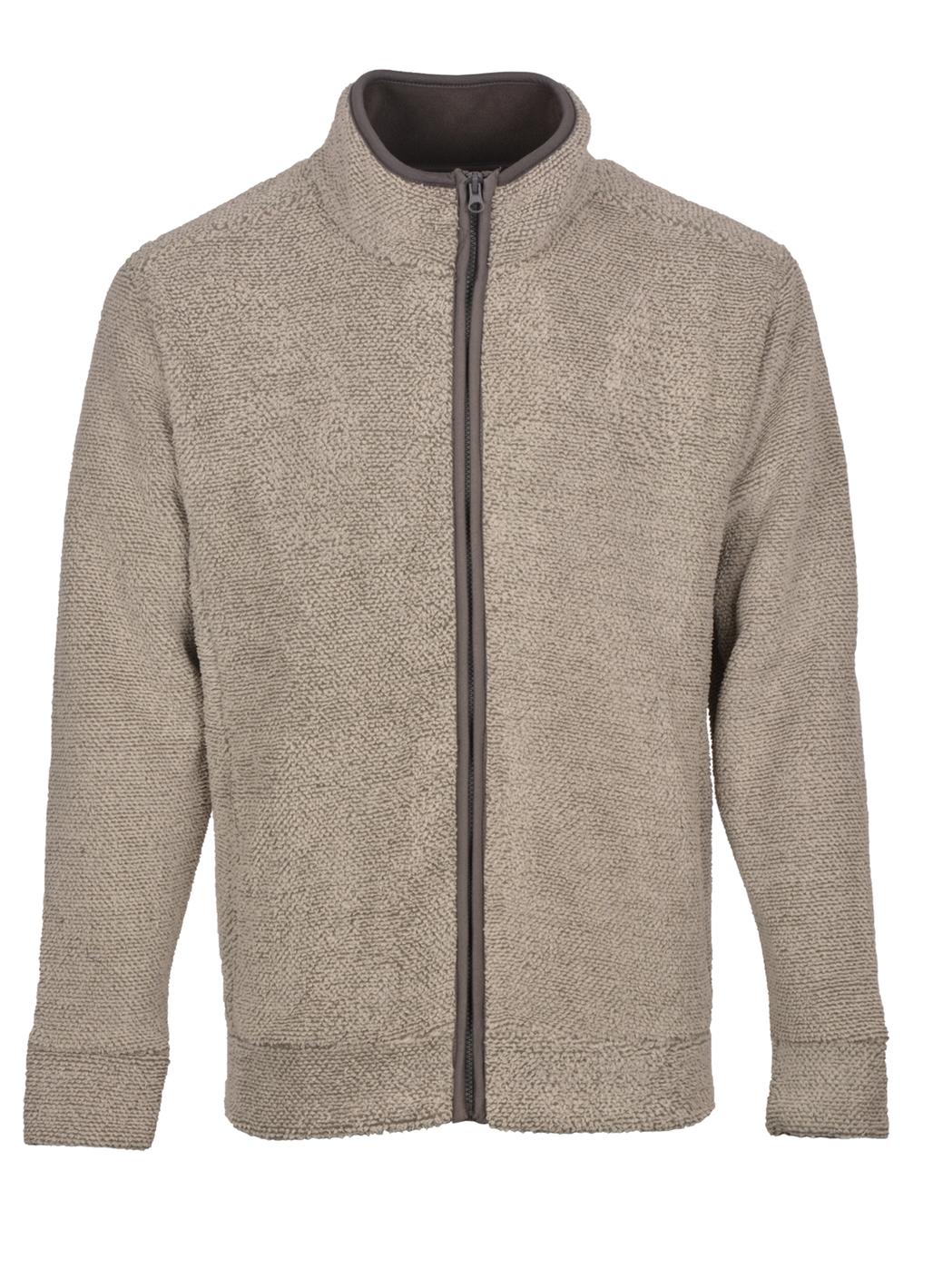 Kingston Fleece Jacket in Grey
