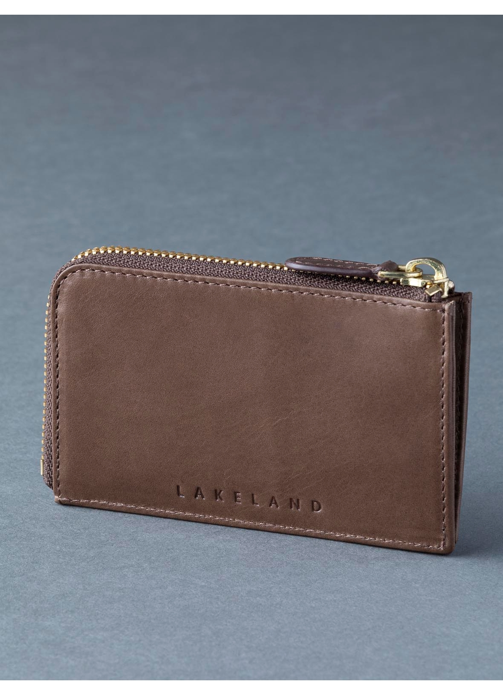 Scafell Leather Security Pouch in Brown
