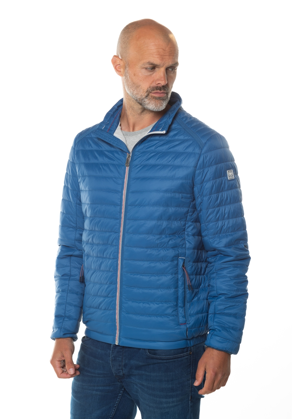 Steph Lightweight Padded Jacket in Blue