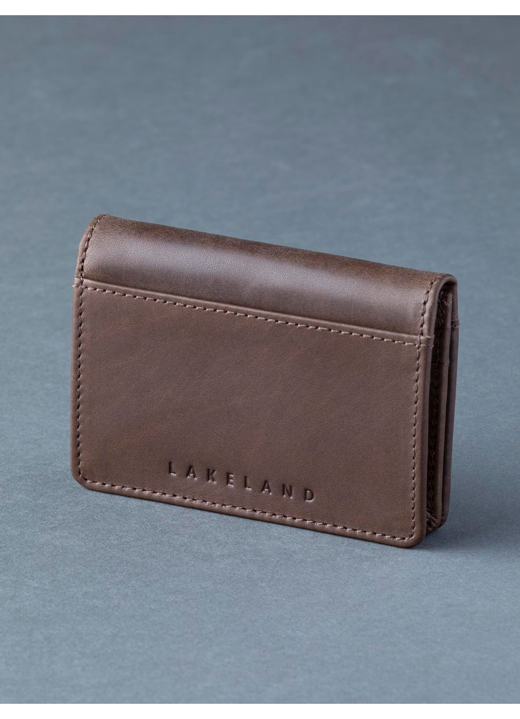 Scafell Leather Bi-Fold Card Holder in Brown