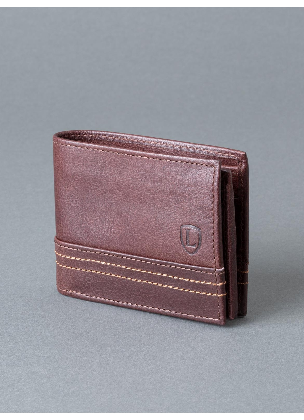Keswick Leather Wallet in Brown