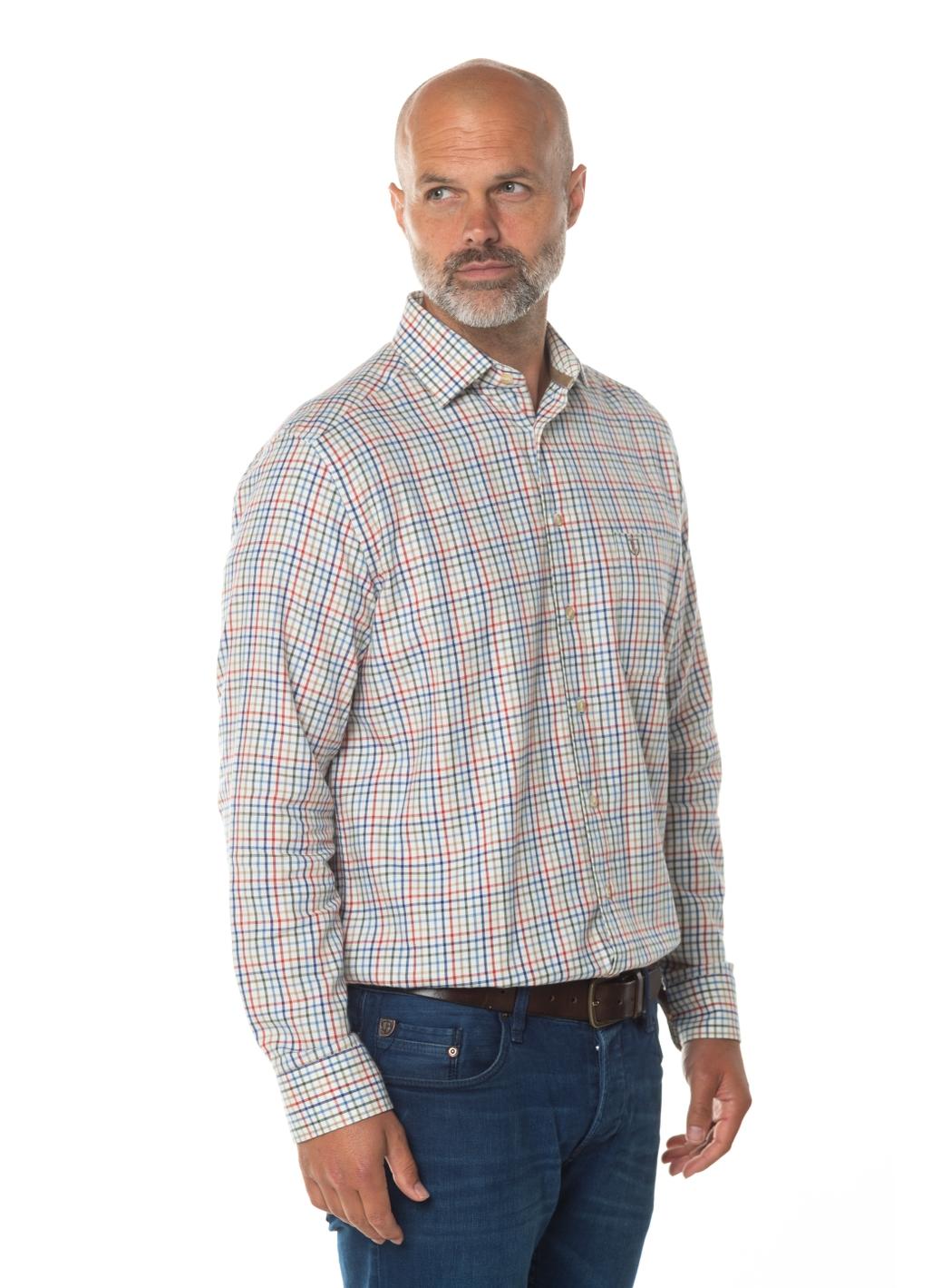 Sean Long Sleeve Check Shirt
