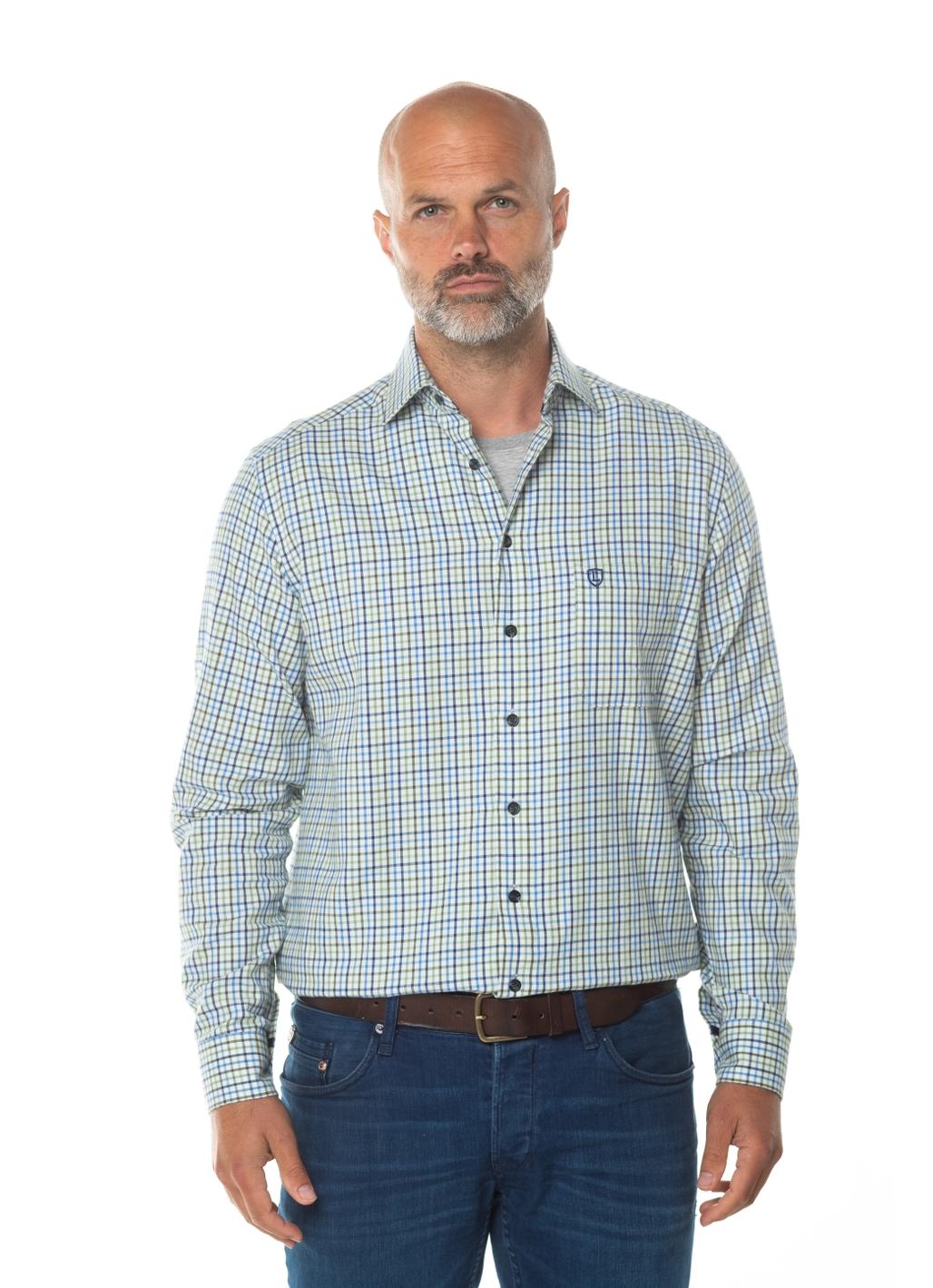 Sullivan Long Sleeve Check Shirt