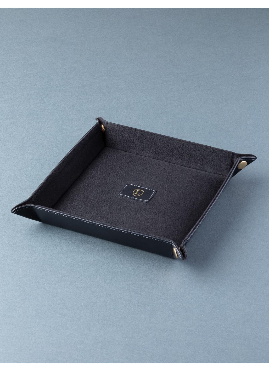Ascari Key and Coin Tray in Black