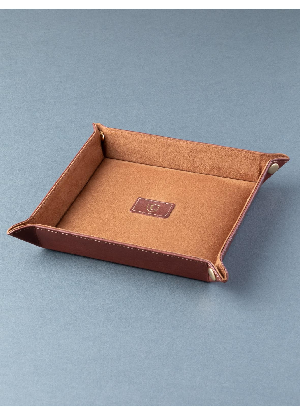 Ascari Key and Coin Tray in Brown