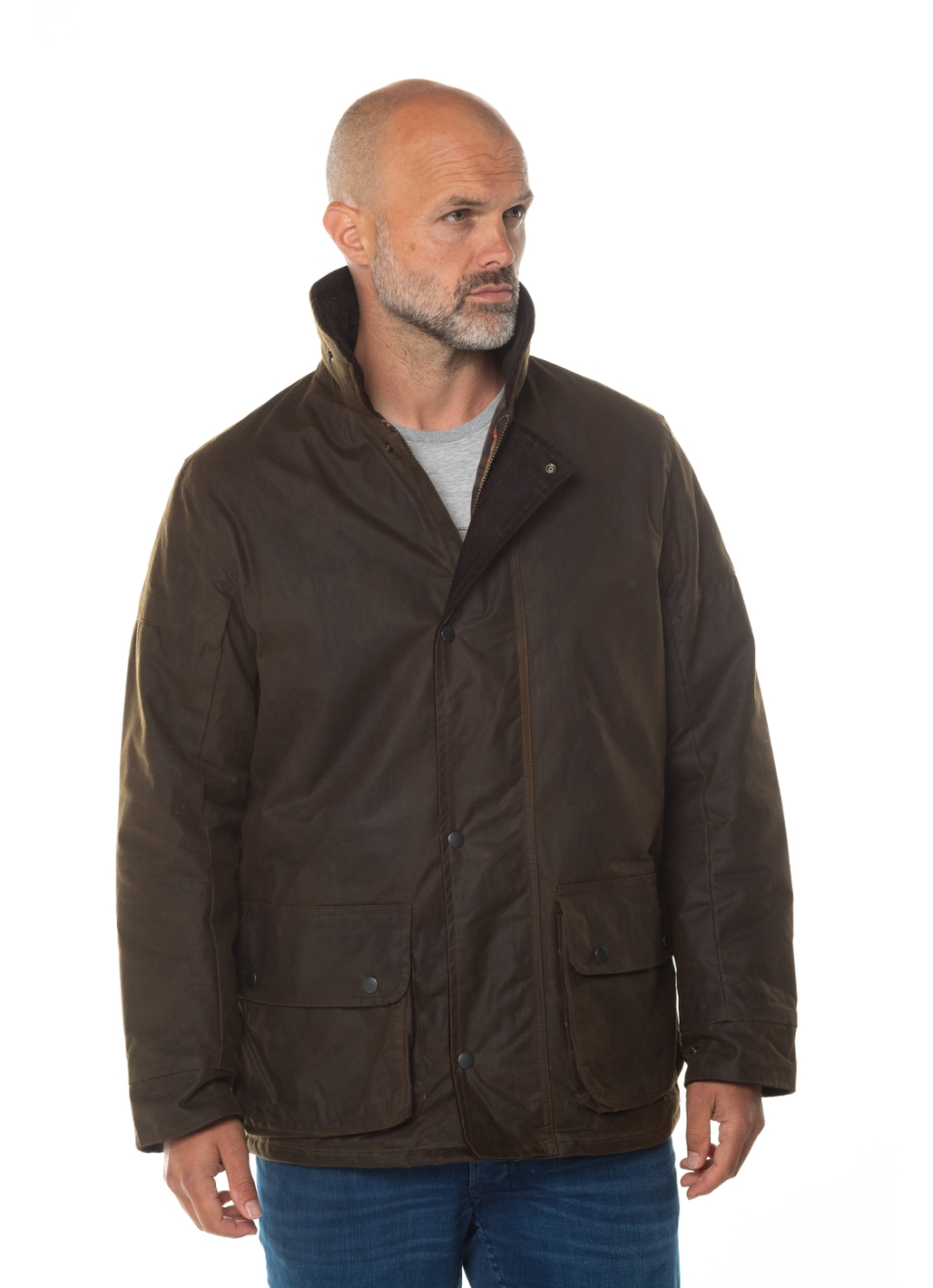 Chelsea UK Made Waxed Jacket in Brown