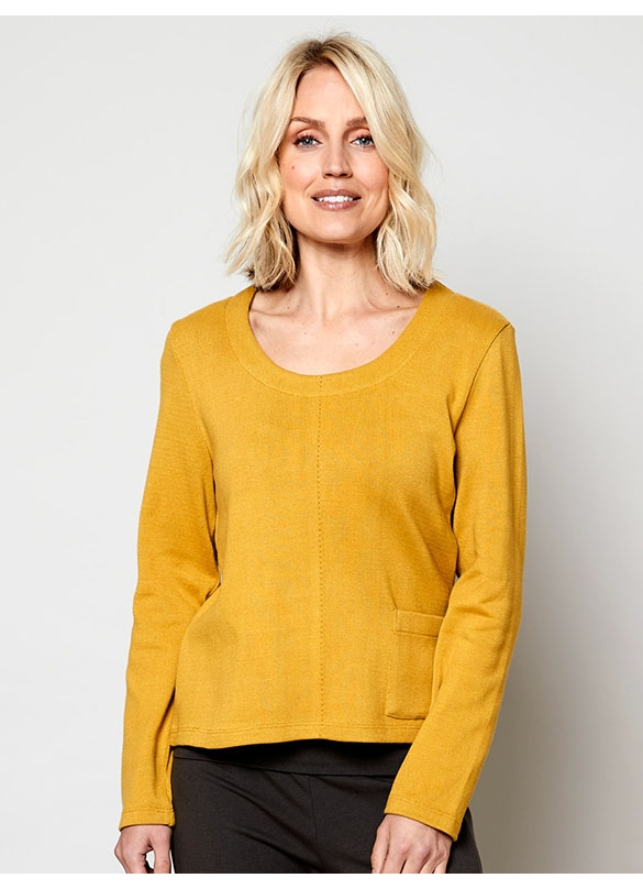 Nomads Organic Cotton Knitted Cosy Top in Harvest