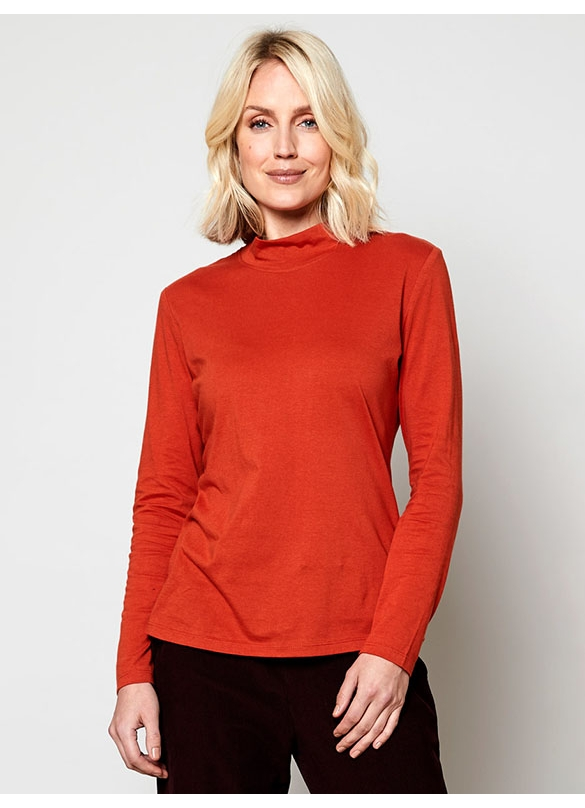 Nomads Organic Cotton Turtle Neck in Yam