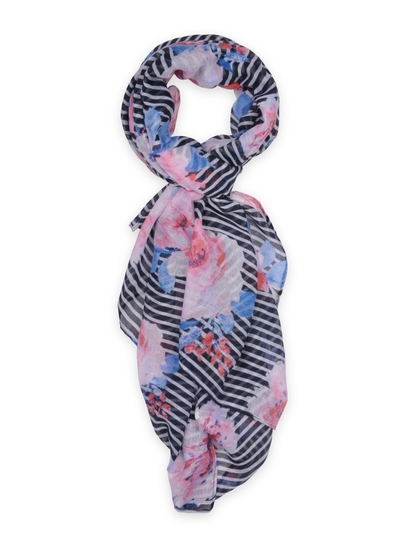 Willow Lightweight Striped Scarf