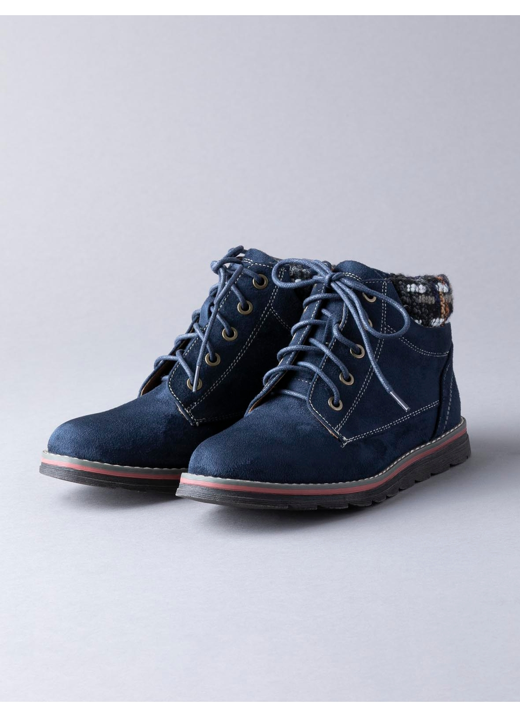 Lotus Sycamore Ankle Boots in Navy