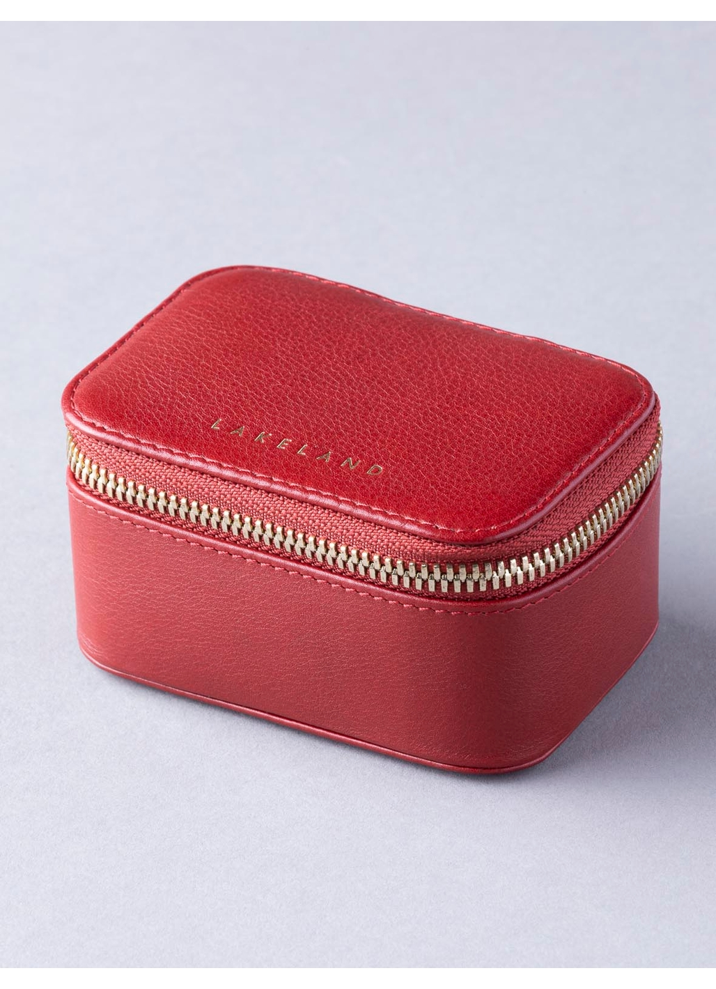 Wray Leather Handbag Tidy in Red
