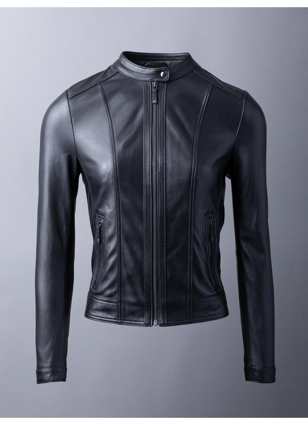 Thorpe Leather Jacket in Black