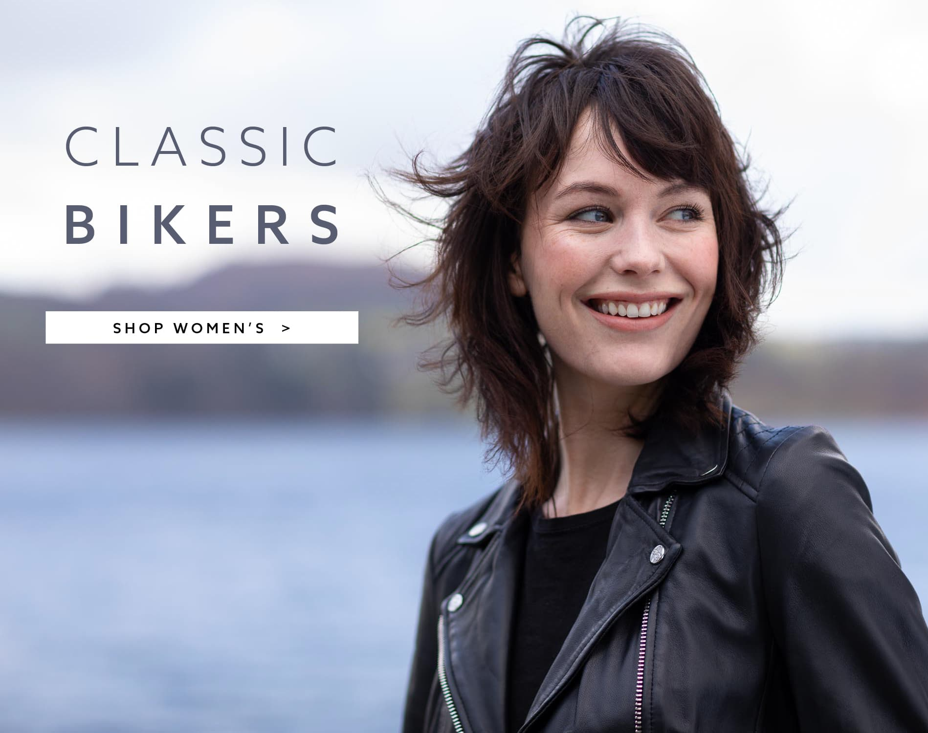 Women's Leather Bikers